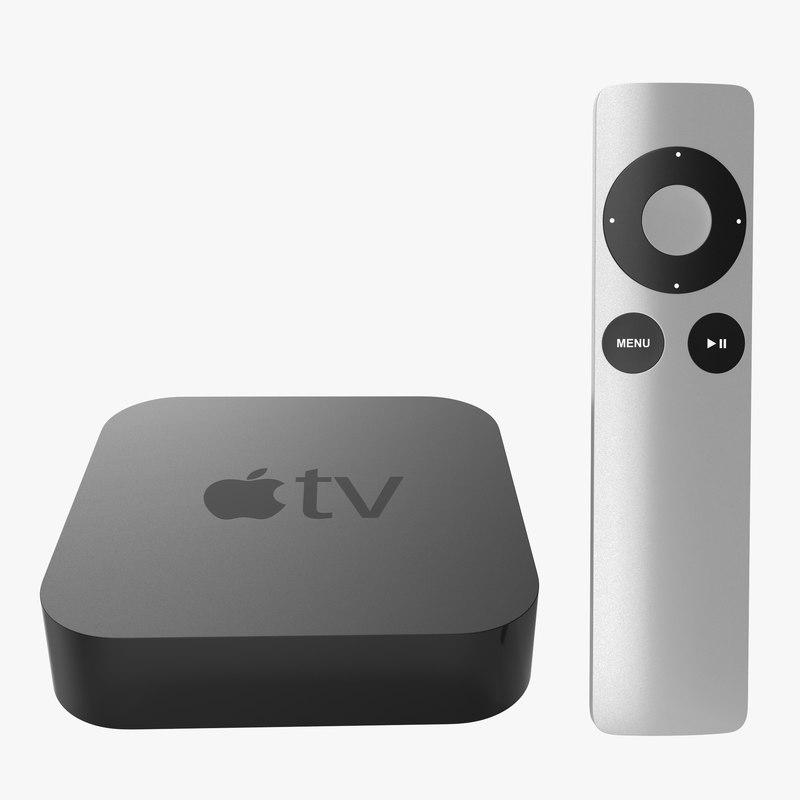 Apple TV Collection 3d model 00.jpg