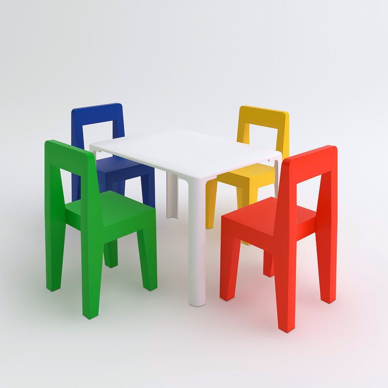 Children's Table& Chairs