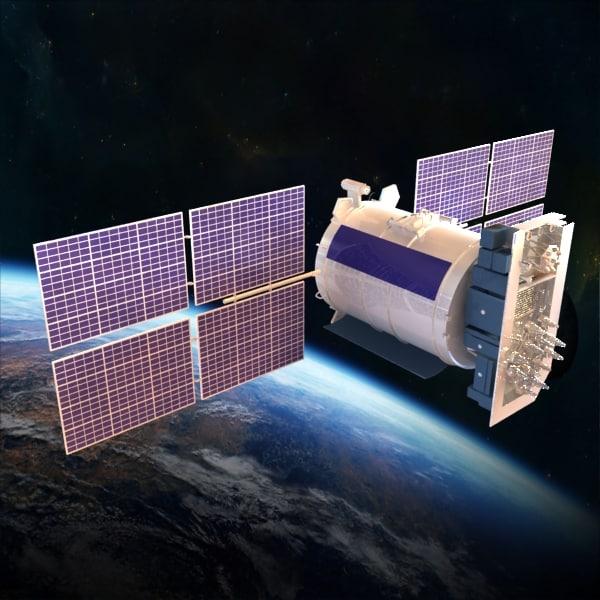 Satellite Glonass 3D Models