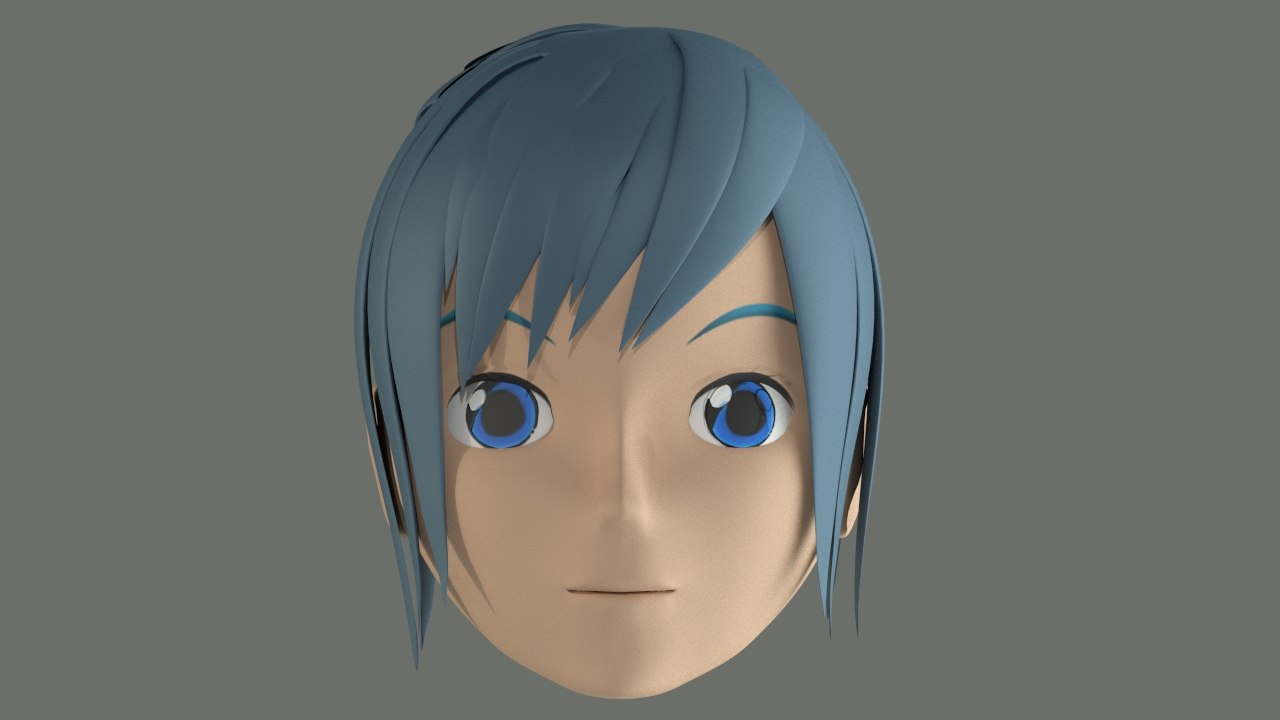 Character Head Model with Blue Hair.jpg