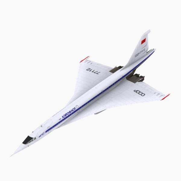 Tupolev TU144 D Version