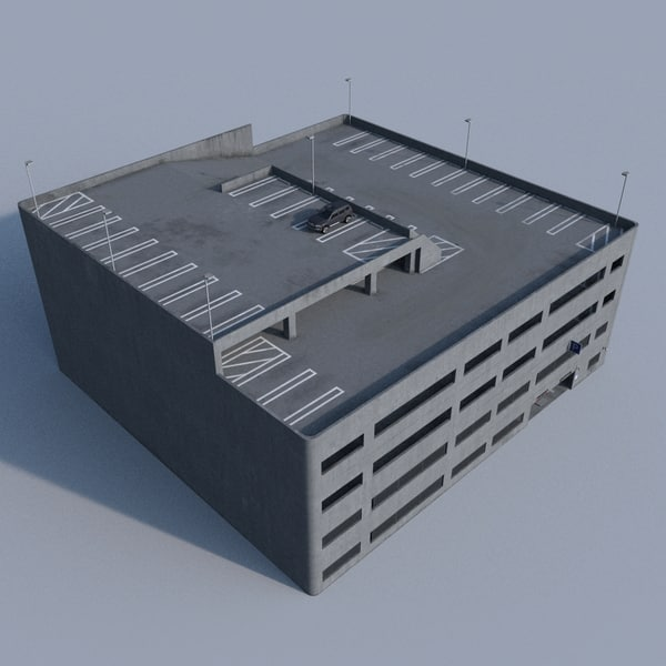 Parking Garage 3D Models