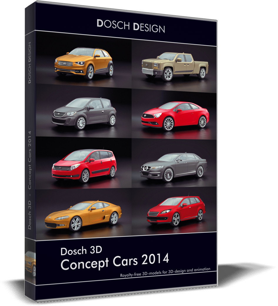 Dosch 3D - Concept Cars 2014