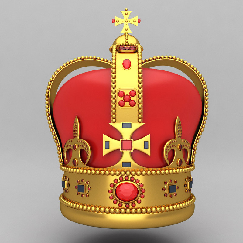 crown king ornaments 11
