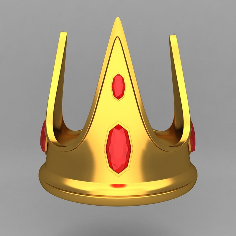 crown king ornaments 14
