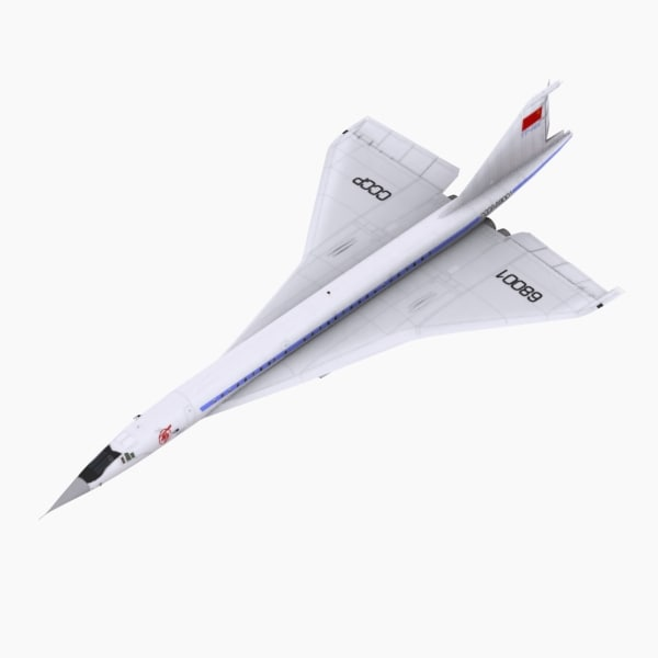 Tupolev TU144 Prototype version