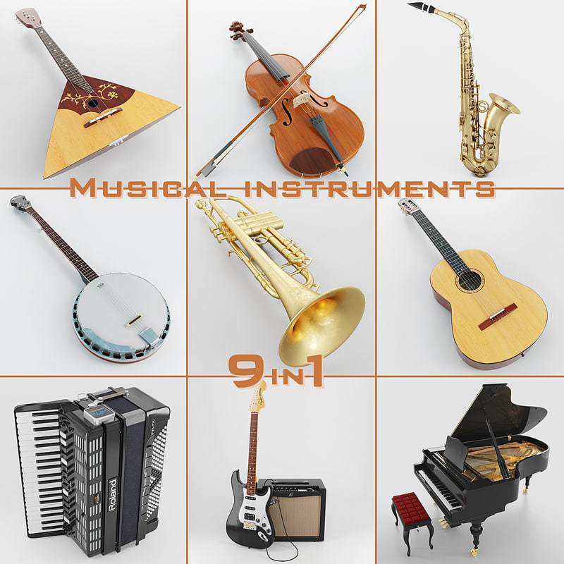 Musical Instruments 9 in 1