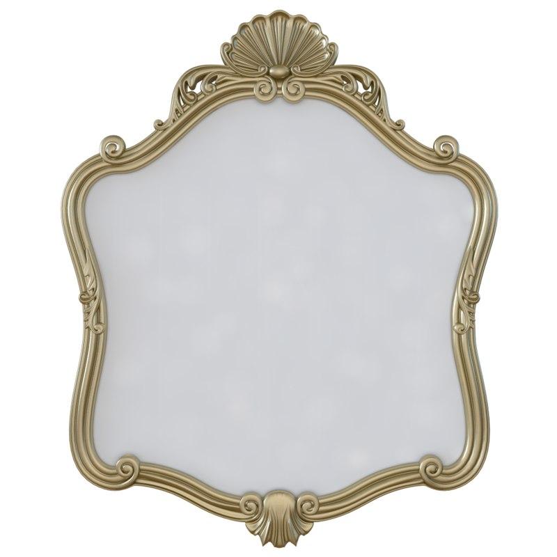 Seven Sedie Baroque Mirror Calicis