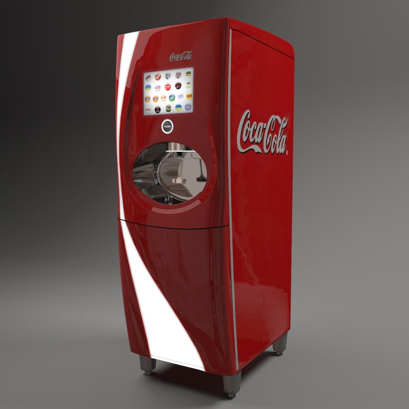 coke freestyle machine specifications
