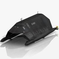 stealth ship 3D models