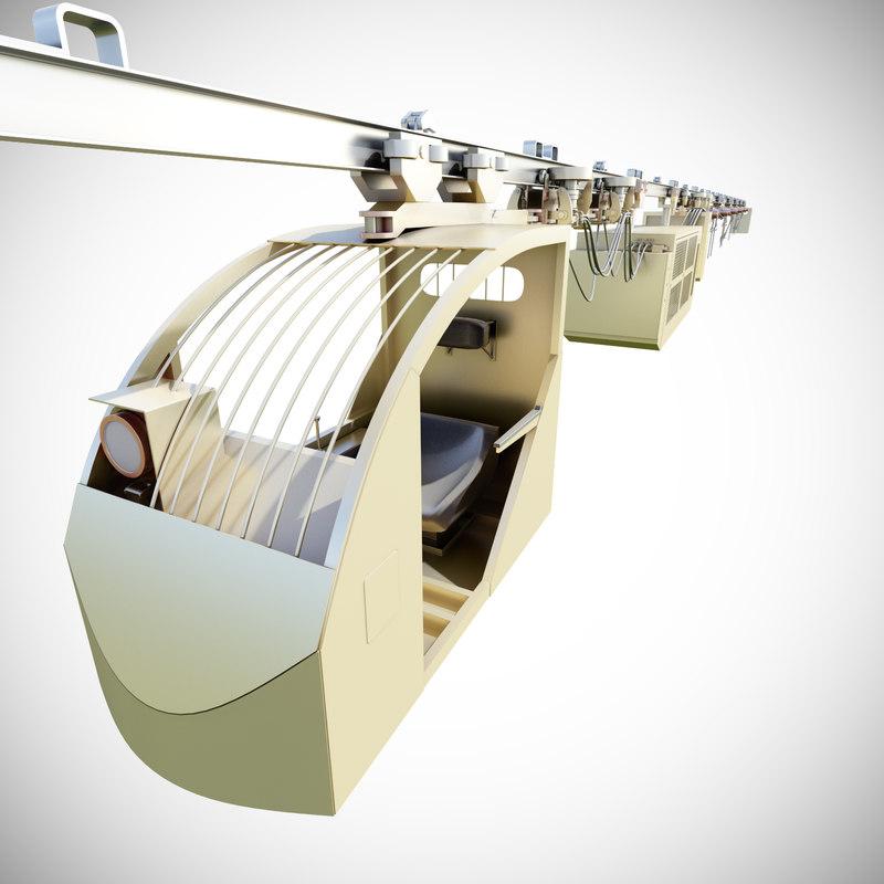 suspended railways mining transport