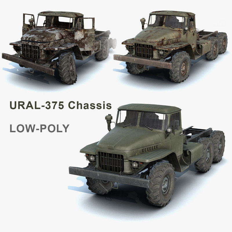 Ural-375 Chassis Set