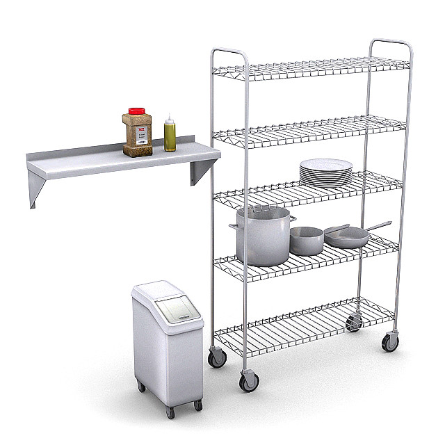 Commercial Kitchen Pack 4
