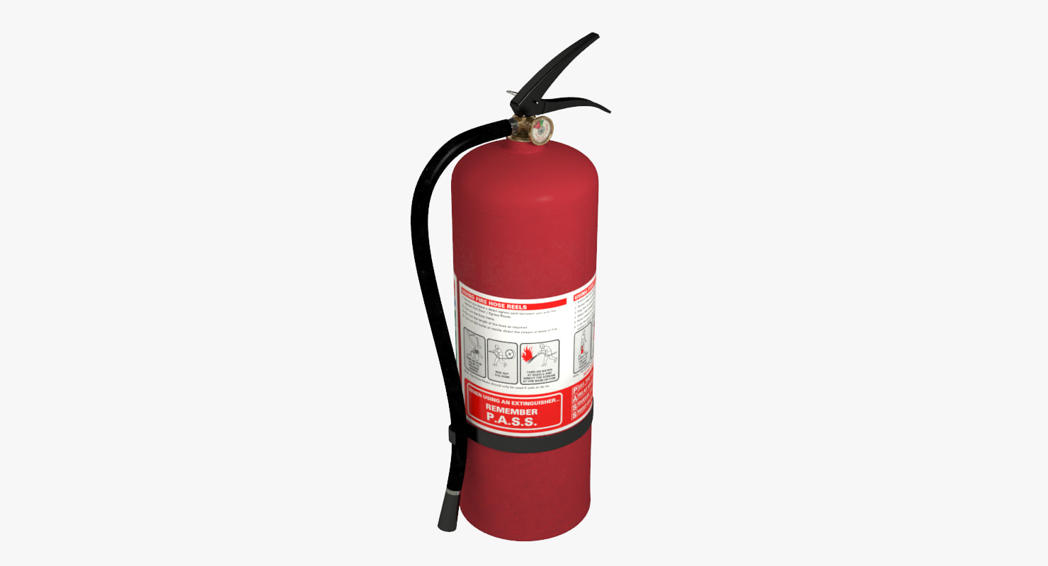 extinguisher   fbx
