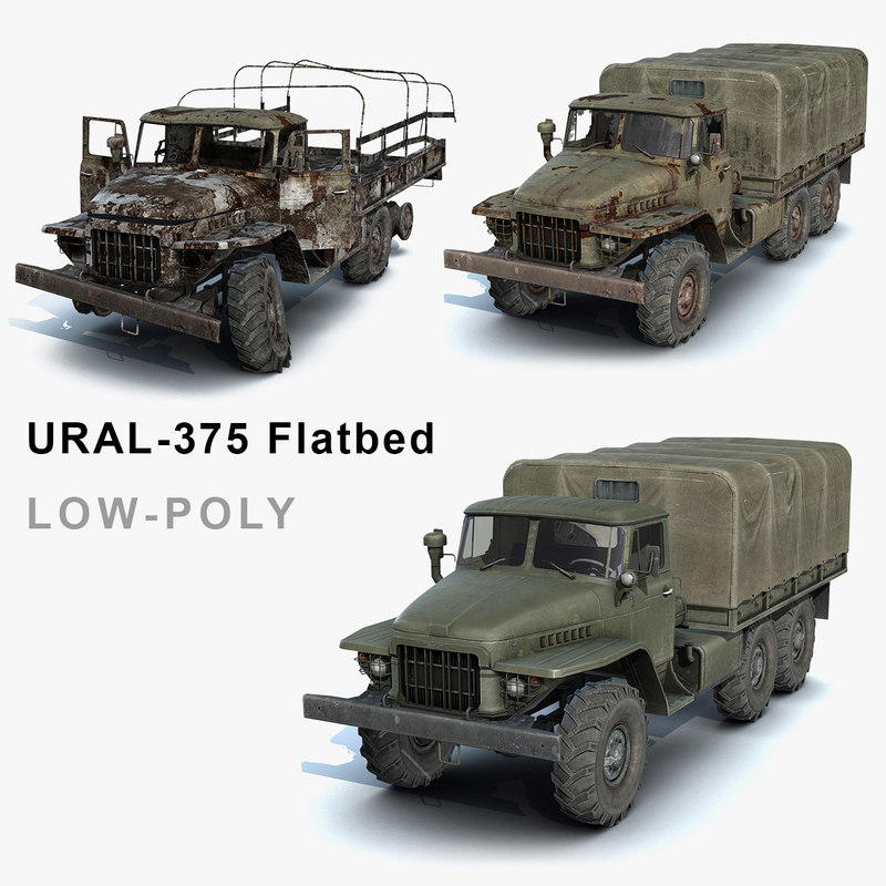 Ural-375 Flatbed Set