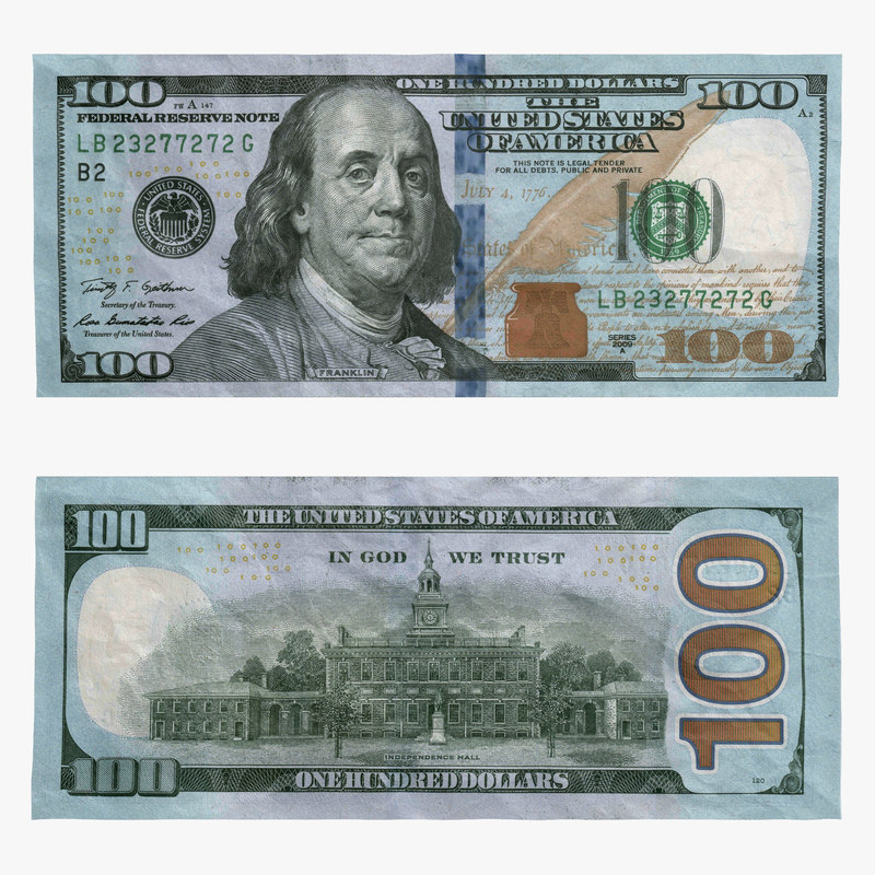 $100 Security Features | U.S. Currency Education Program