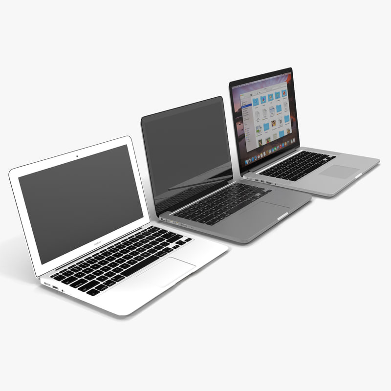 MacBook Collection 3d models 00.jpg