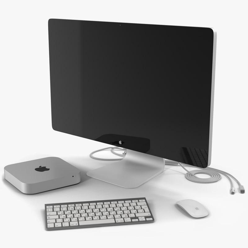 Mac Mini Collection 3d models 00.jpg