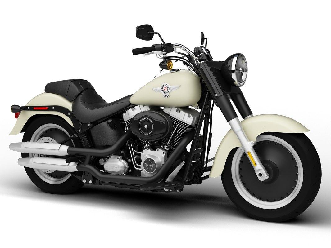 Harley-Davidson FLSTFB Softail Fat Boy Lo 2015
