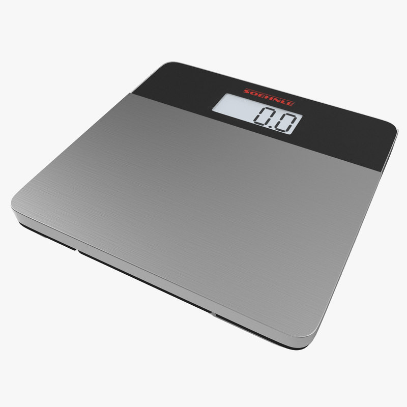 Bathroom Scale Soehnle 3d model 00.jpg