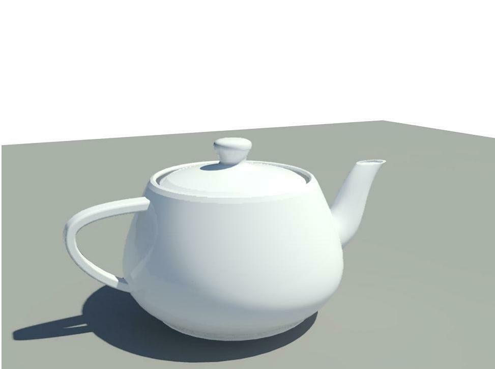 max utah teapot revit