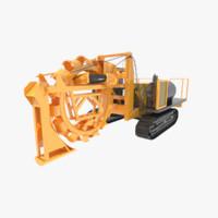 trencher 3D models