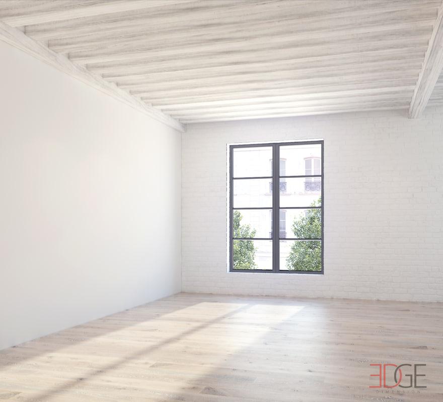 Photorealistic Loft Empty Scene.jpg