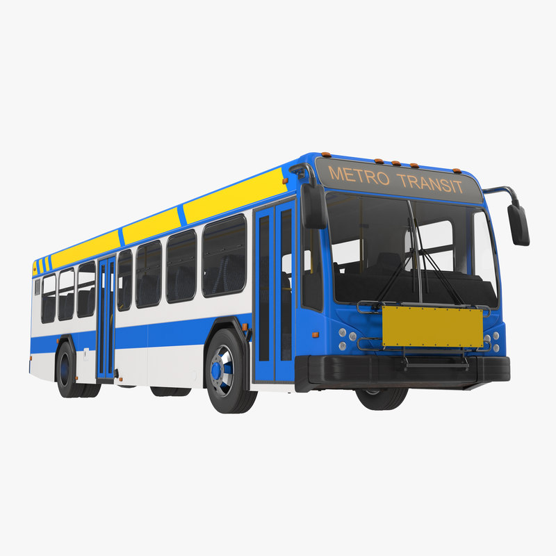 3d model of Bus Metro Transit 00.jpg