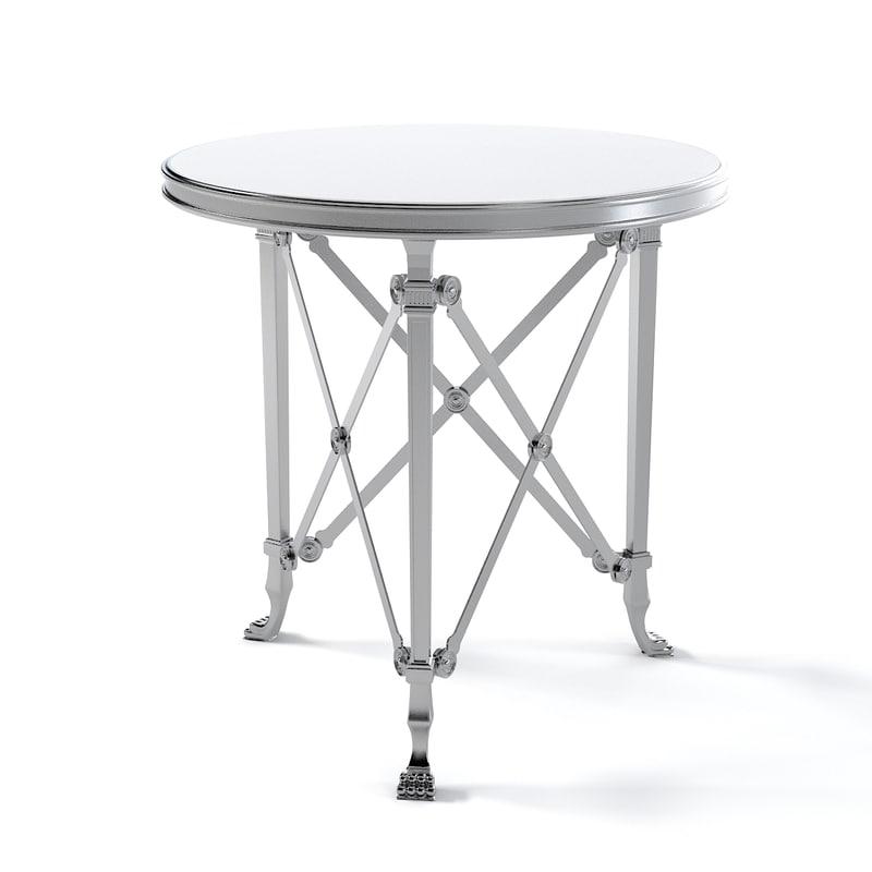 Ralph Lauren Cannes gueridon End Table