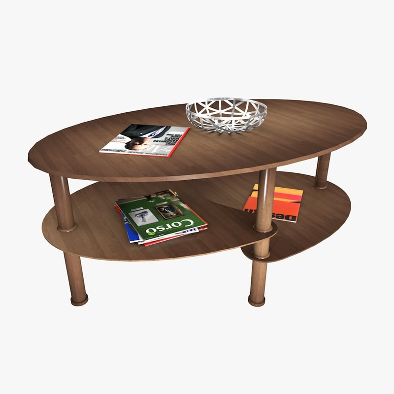 3ds table living room