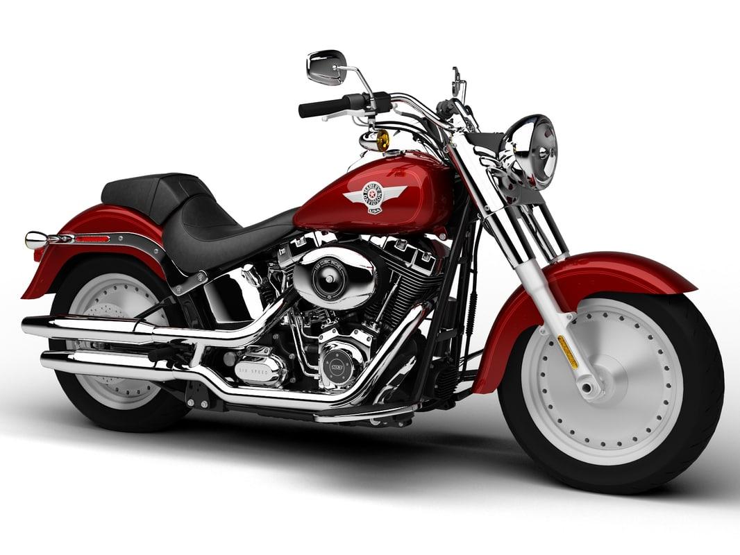 Harley-Davidson FLSTF Softail Fat Boy 2015