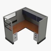 workstation 3D models