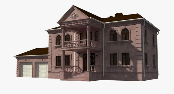 Mansion Texture Maps