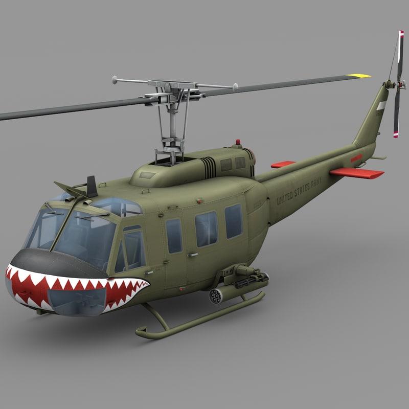 Bell UH-1D Vietnam