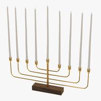 Hanukkah 3D models