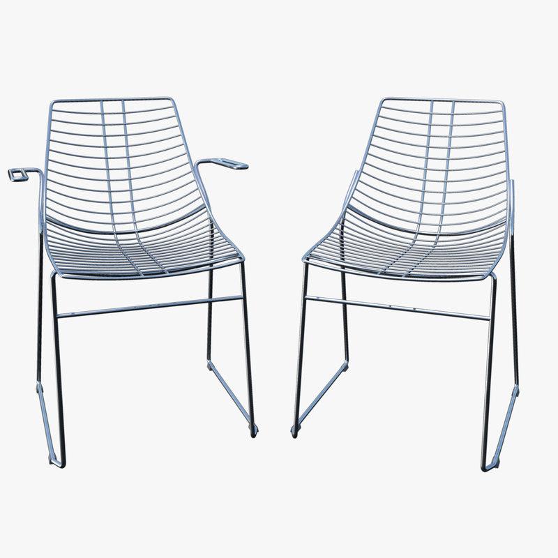 Metalmobil Net Steel Chair