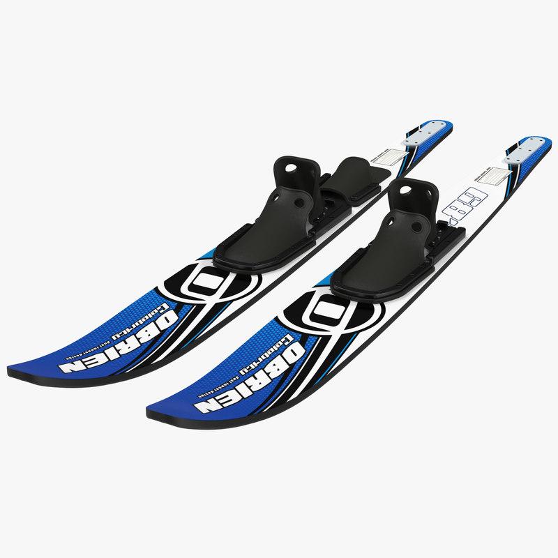 Waterskies 3d model 00.jpg