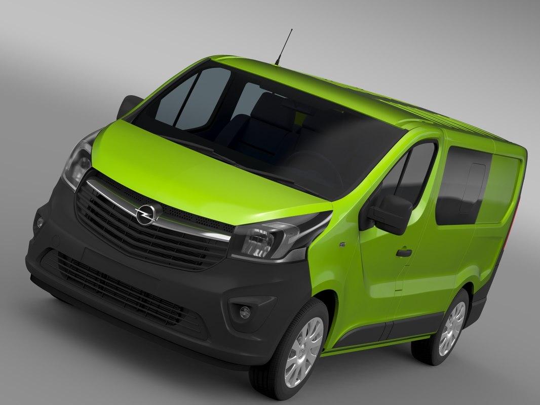 Opel Vivaro MultiVan EcoFlex 2015