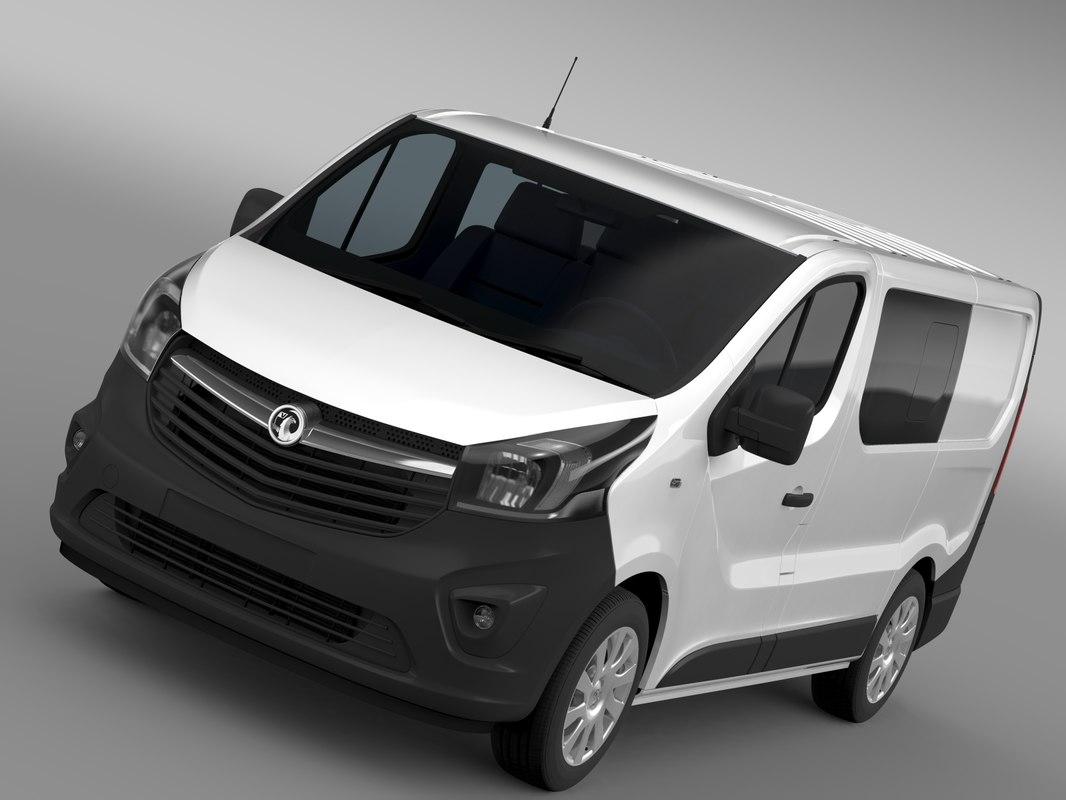 Vauxhall Vivaro MultiVan EcoFlex 2015