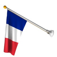 french flag 3D models