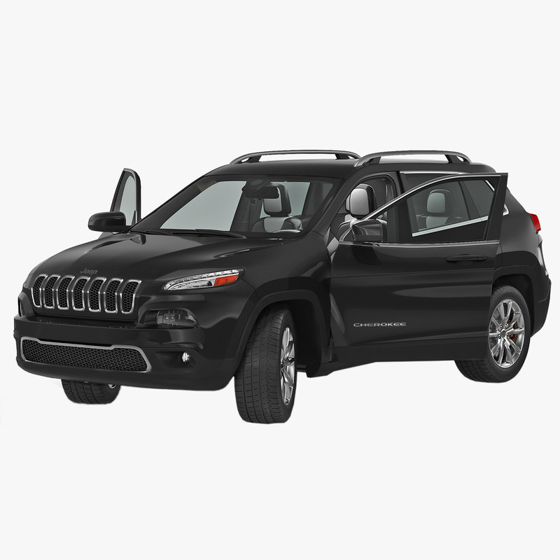 3d jeep cherokee 2015 rigged model. Black Bedroom Furniture Sets. Home Design Ideas