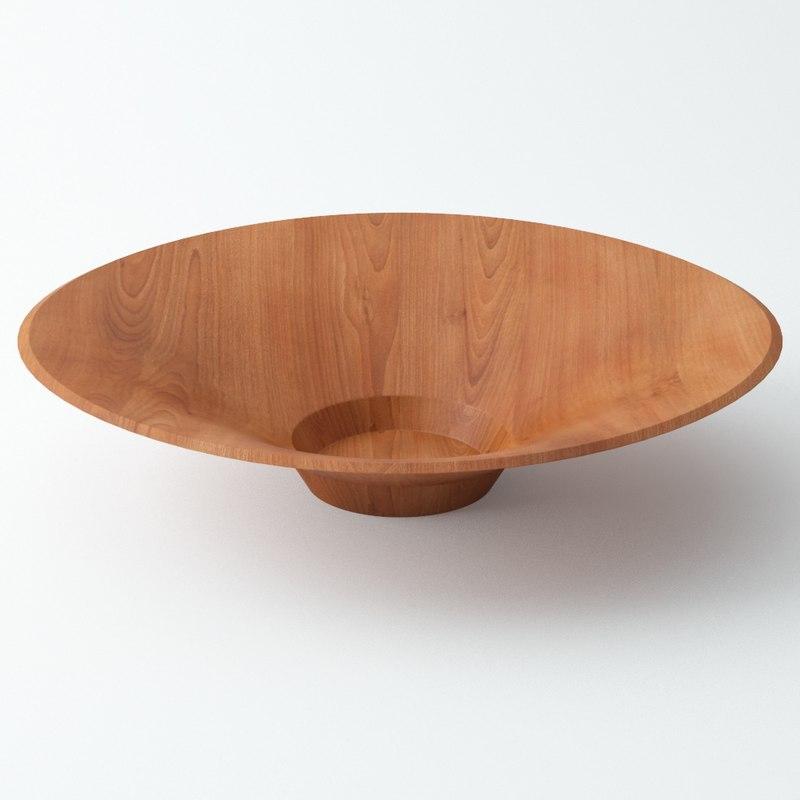 Wood Bowl A04