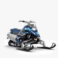 snowmobile 3D models