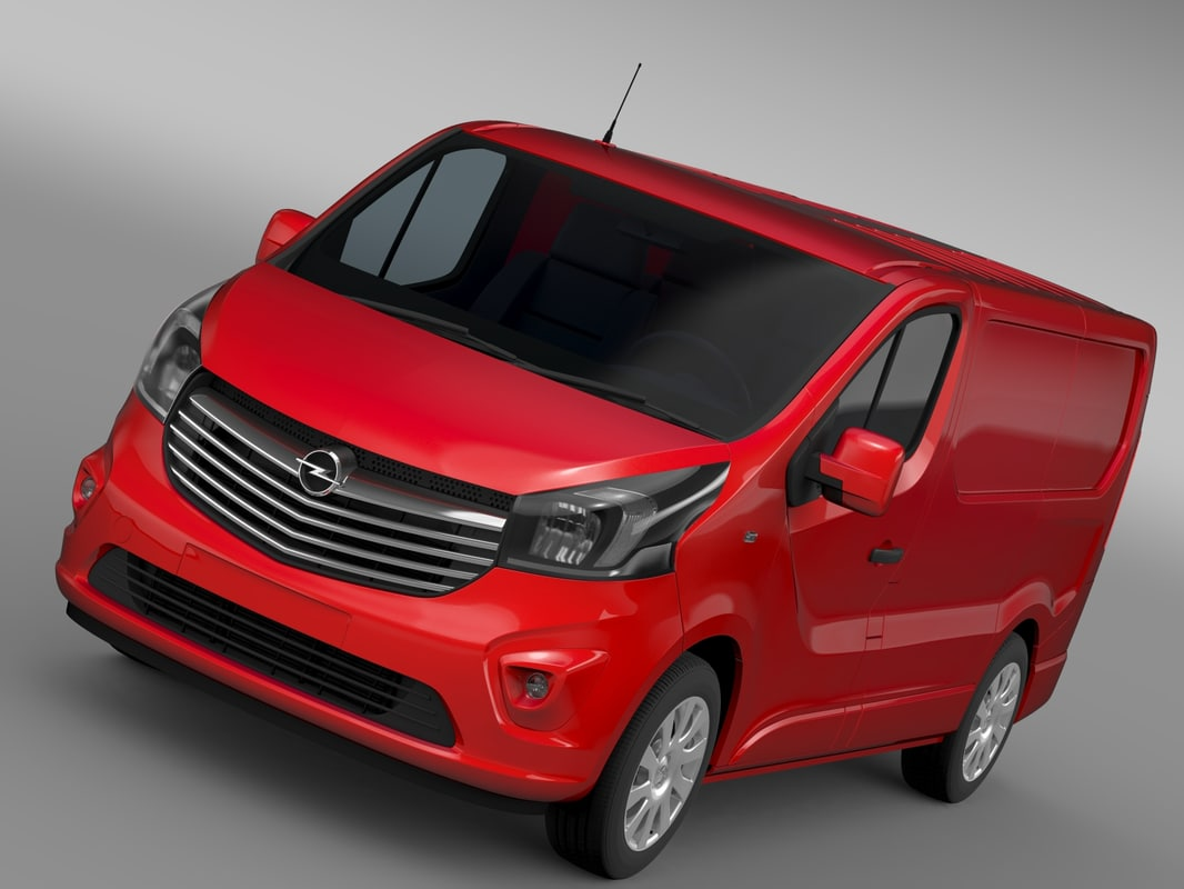 Opel Vivaro Van Biturbo 2015
