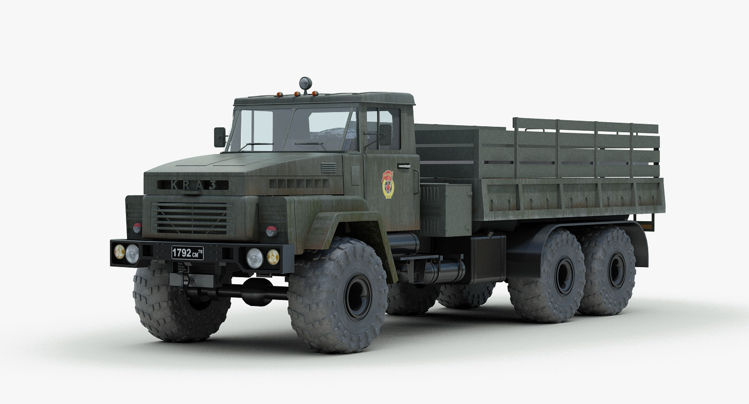 KRAZ 260 Truck