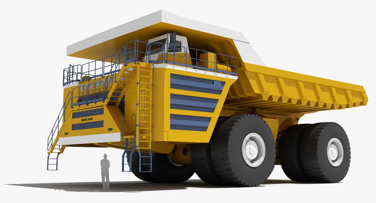 Belaz 75710 Mining Truck