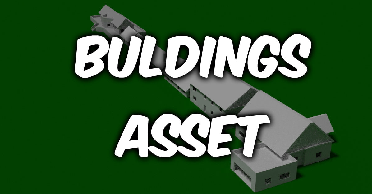 LowPoly Buldings_Asset