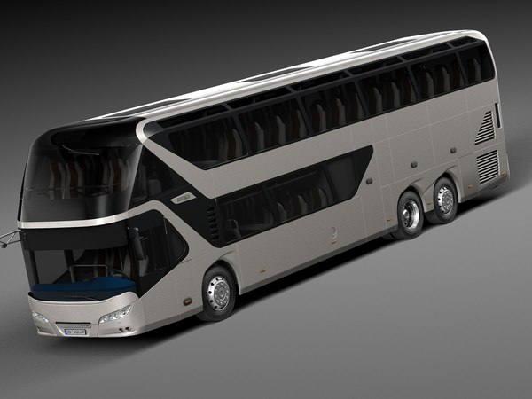 Neoplan Skyliner 2015 Coach Bus 3D Models