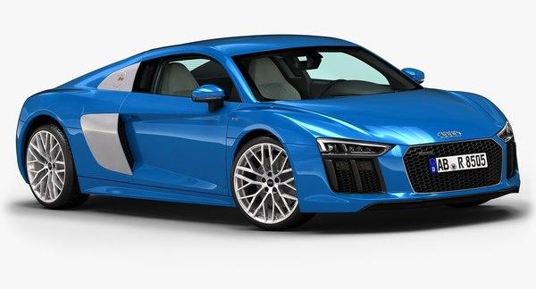 2016 Audi R8 3D Models
