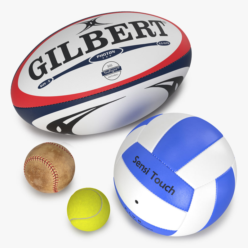 Sport Balls Collection 3d models 00.jpg